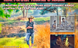Captain Kimo HDR Portrait eBook